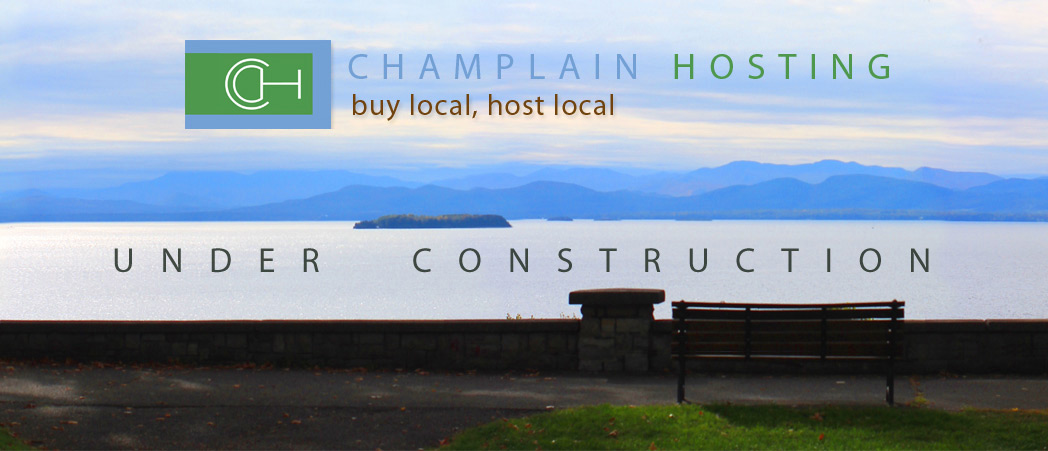 Champlain Host - Vermont's newest website hosting company